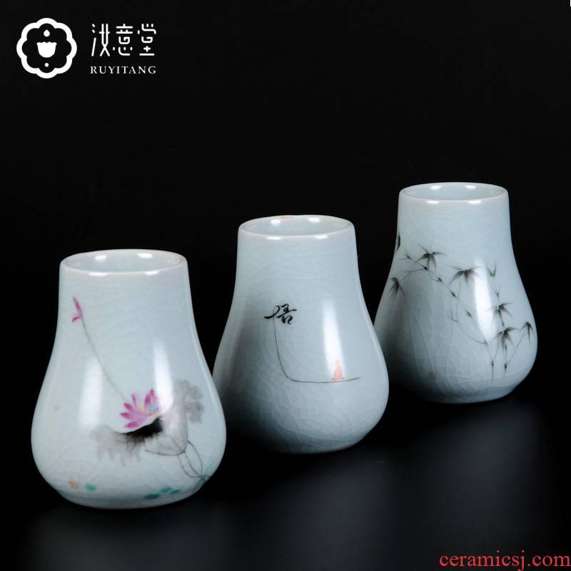 Your up hand - made floret bottle of flower arranging porcelain ceramic bottle flower implement home sitting room decorate office desktop furnishing articles