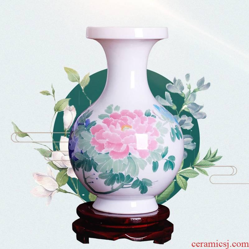 Jingdezhen ceramics vases, I and contracted creative furnishing articles home sitting room flower arrangement craft adornment ornament