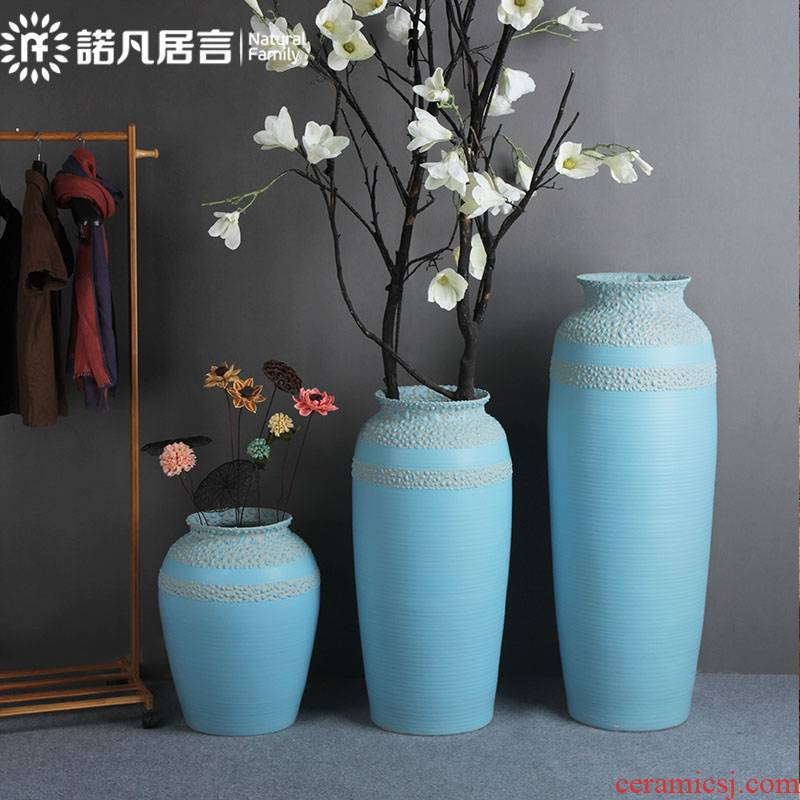 The Vases, ceramic designer sitting room of large vase flower arranging furnishing articles villa hotel contracted type ceramic vase