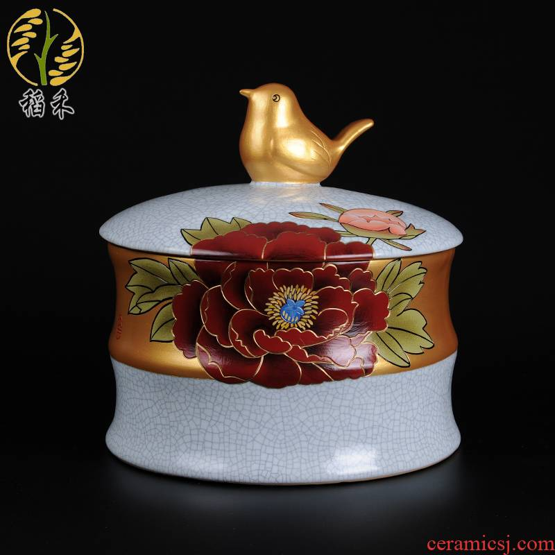 Clear your up ceramic arts and crafts of sundry as cans Chinese style restoring ancient ways home furnishing articles wedding gift housing decoration decoration