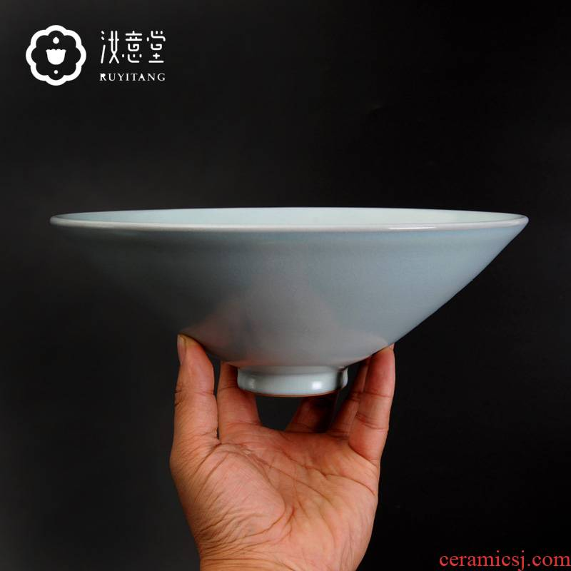 Your up handicraft with pure manual burn Chinese antique simplicity ceramic rich ancient frame wine decorative furnishing articles hat to bowl