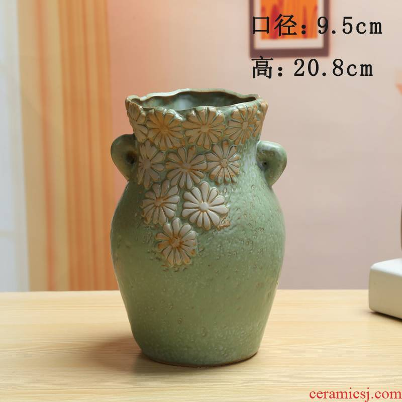 Mage more meat high pot through pockets tao ceramic purple orchid plant pot small old running the big flower pot