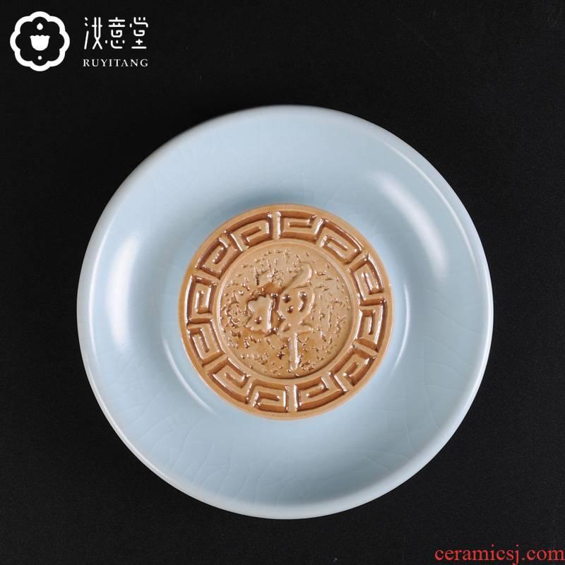 Your up you CiHu bearing ceramic kung fu tea set with parts pot saucer tea trays pot pad dry terms tray of tea tray