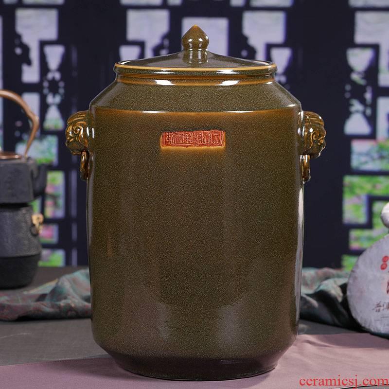 Jingdezhen ceramic tea pot at the end of the day type coarse pottery tea pot store receives a clay pot - large porcelain POTS