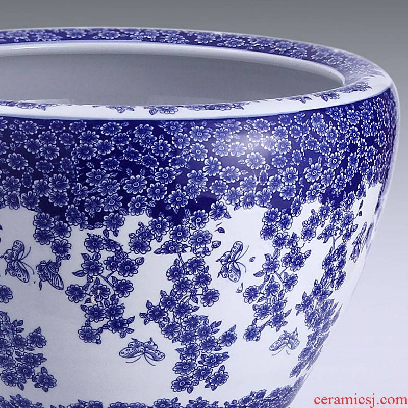 Have buy Have the send jingdezhen ceramic aquarium goldfish bowl shallow water aquarium recent