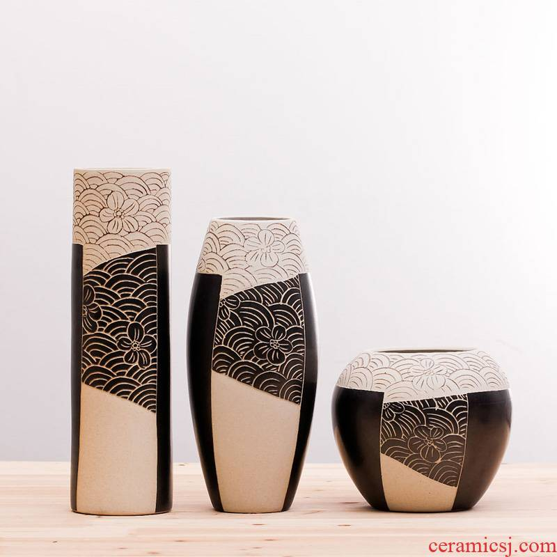 Merry modern creative ceramic vase wedding gift sy05 contracted sitting room adornment household decoration arts and crafts