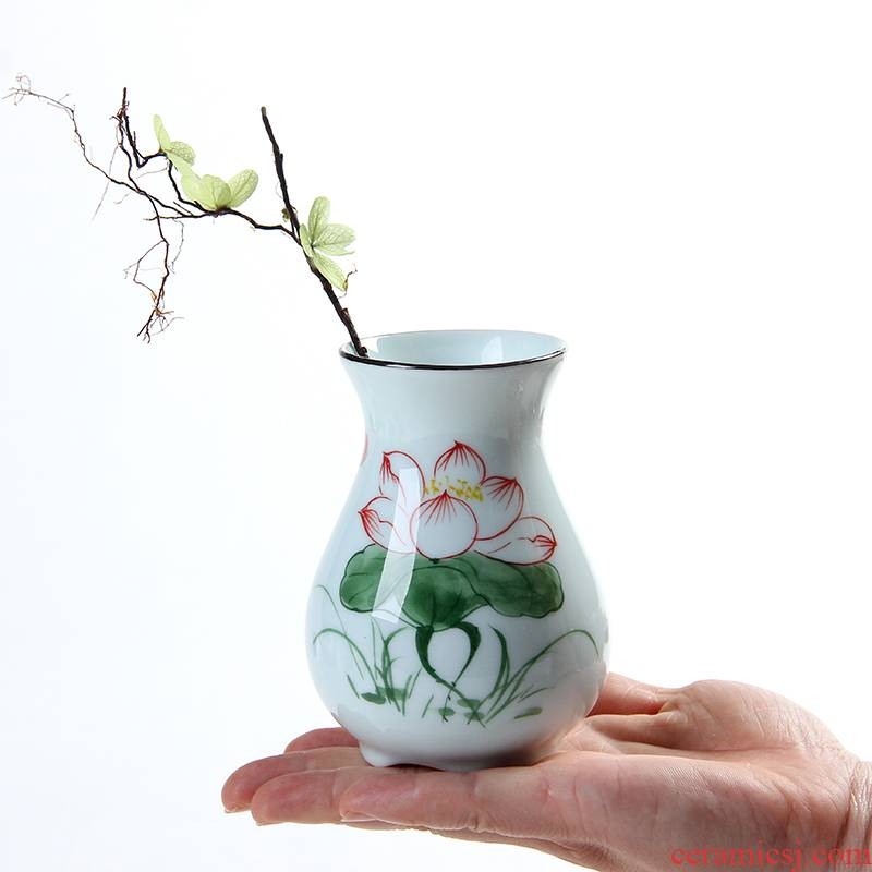 Other water raise vase copper hyacinth grass water raise no hole, ceramic vases, all over the sky star, dried flower vase