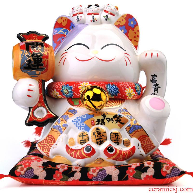 The Open stone workshop plutus cat furnishing articles plutus cat piggy bank the opened a large ceramic gifts piggy bank