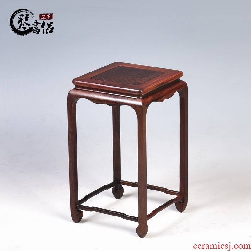 Redwood base square flower flower miniascape of several base frame home decoration handicraft furnishing articles
