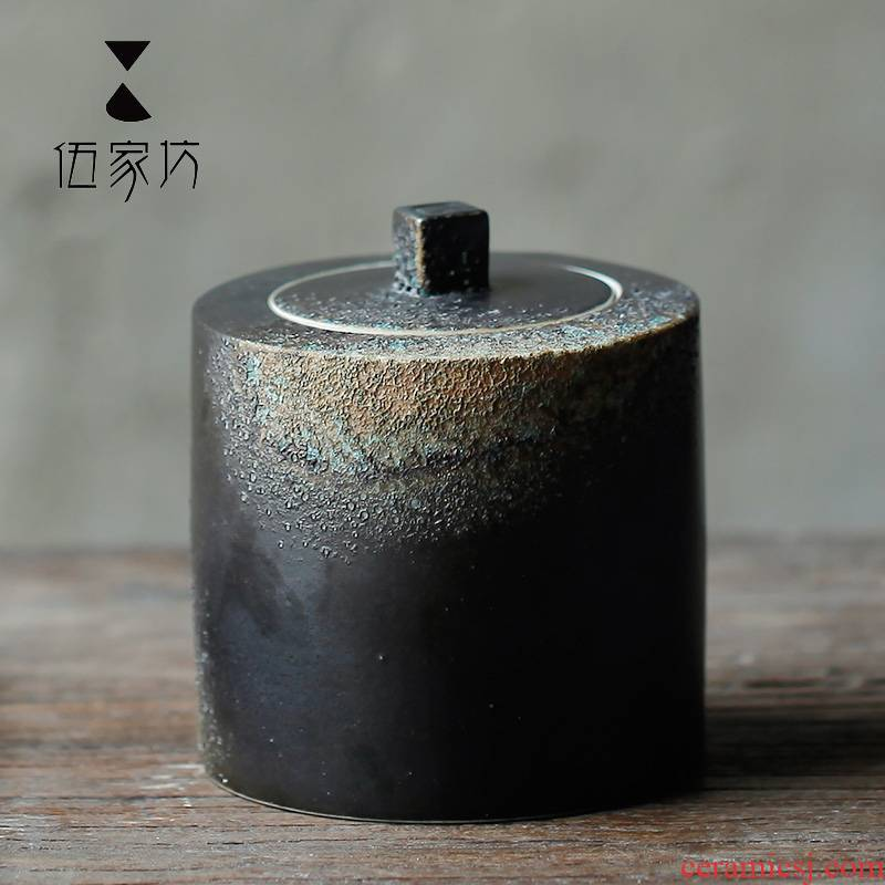 The Wu family fang creative ceramic tea pot and the receive pu 'er tea longjing kung fu tea POTS small tea caddy fixings