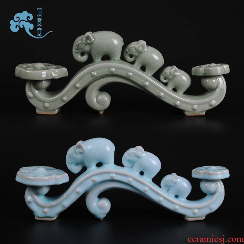 Your up creative arts and crafts ruyi furnishing articles ceramic Chinese style classical contracted household rich ancient frame sitting room adornment ornament