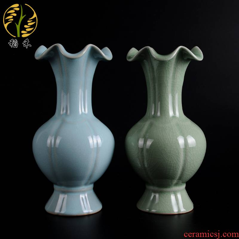Archaize your up craft ceramic vase Chinese style home sitting room classic style restoring ancient ways China ornament