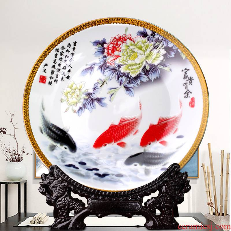 Chinese pottery and porcelain of jingdezhen wine hang dish furnishing articles household act the role ofing is tasted, the sitting room porch decoration