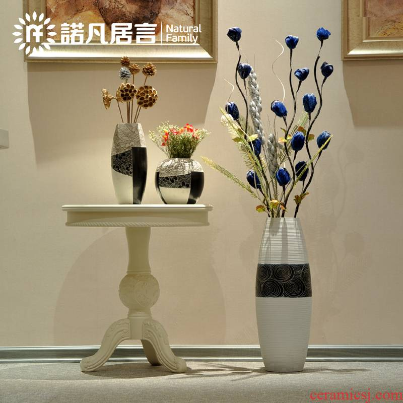 And every European veins dry flower set off in yunnan flowers, household act the role ofing is tasted the ground simulation ceramic vases, furnishing articles