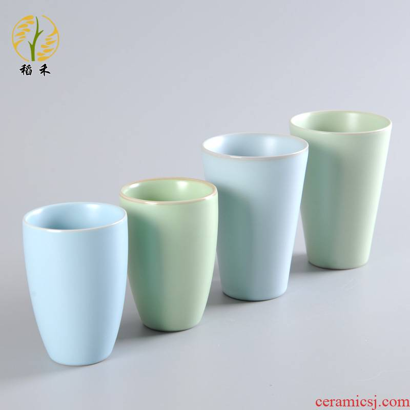 Your up glass ceramic cups home office ultimately responds a cup of tea cup tea cup of a cup of pure color contracted thickening