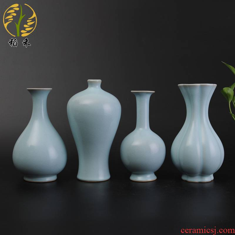 Archaize your up craft ceramic vases, Chinese style restoring ancient ways is contracted sitting room TV ark, rich ancient frame accessories furnishing articles