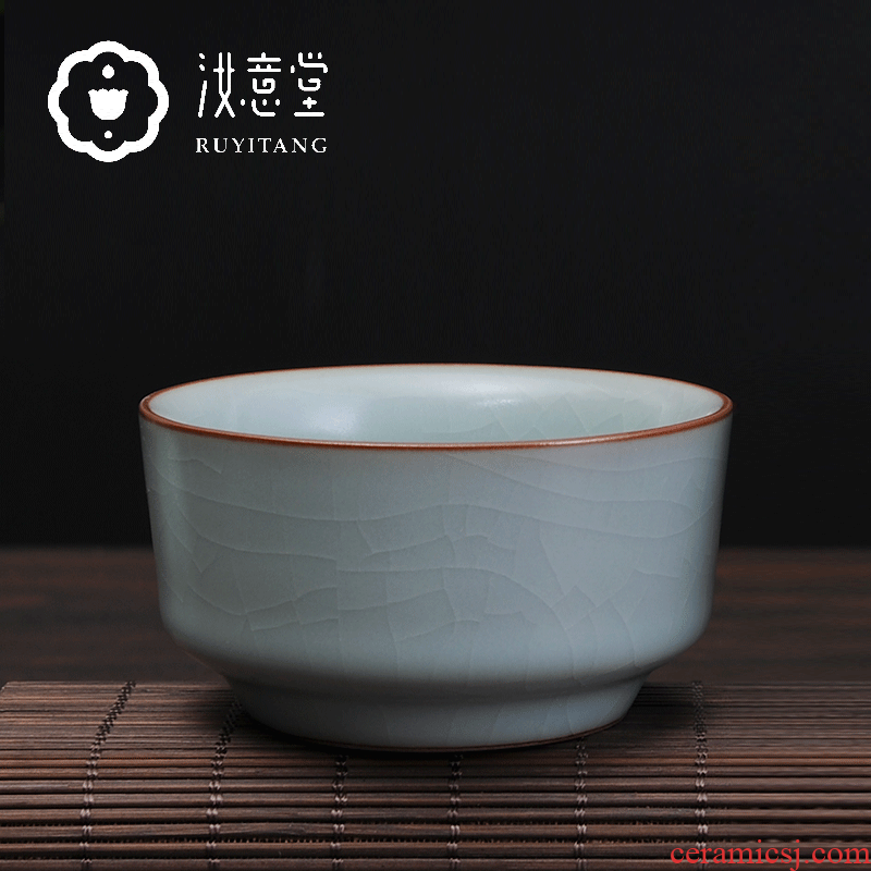 Your up ceramic cups kung fu tea set hat to personal master cup a cup cup sample tea cup single CPU celadon household