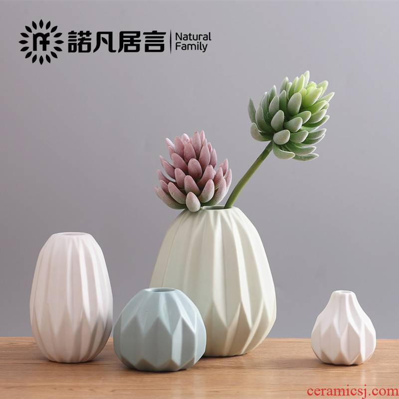 Cano all Nordic I and contracted sitting room tea table table soft adornment origami ceramic vase furnishing articles flower arranging flowers