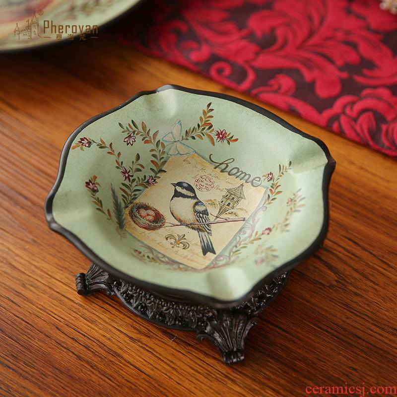 American home sitting room ashtray restoring ancient ways furnishing articles European creative home tea table decoration ceramic decoration ashtray