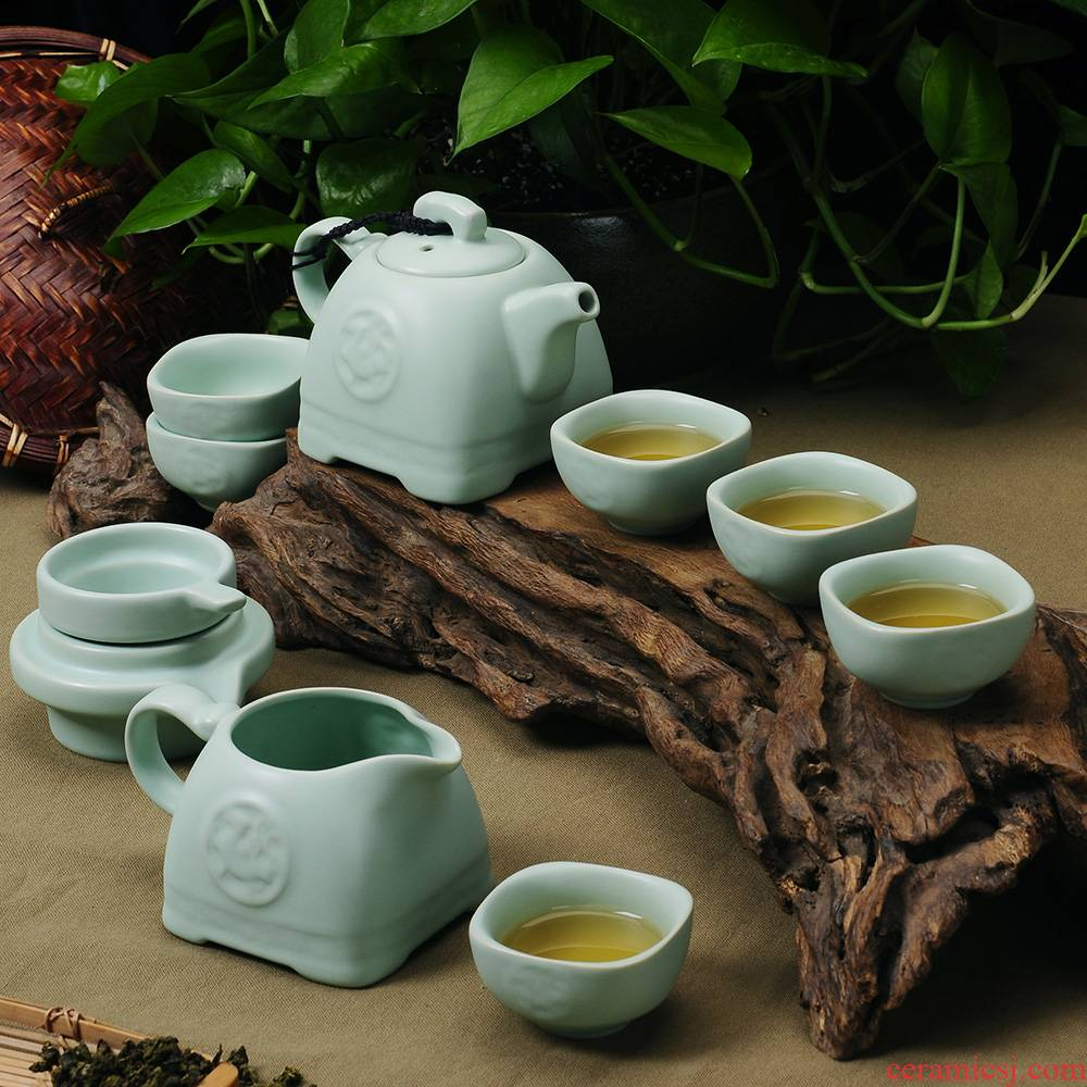 Your up tea sets to open the slice of a complete set of Your porcelain tea set the teapot teacup kung fu tea tea tureen ceramics