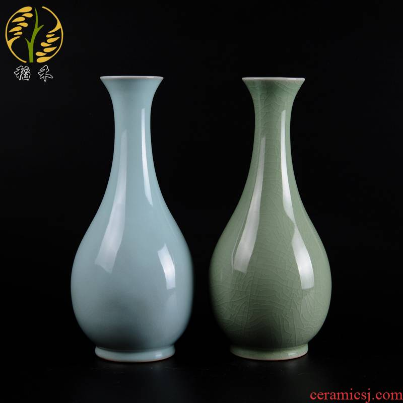 Antique Chinese style restoring ancient ways your up porcelain vase contracted classic decoration style living room office furnishing articles Chinese wind