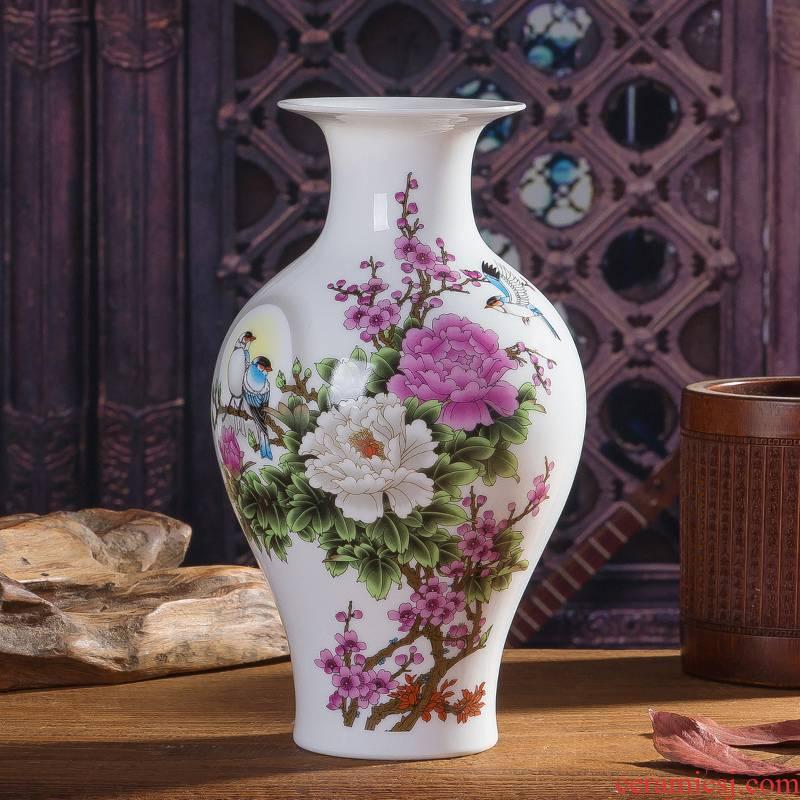 Jingdezhen ceramic vase floret bottle furnishing articles furnishing articles spending a sitting room porcelain home decoration crafts