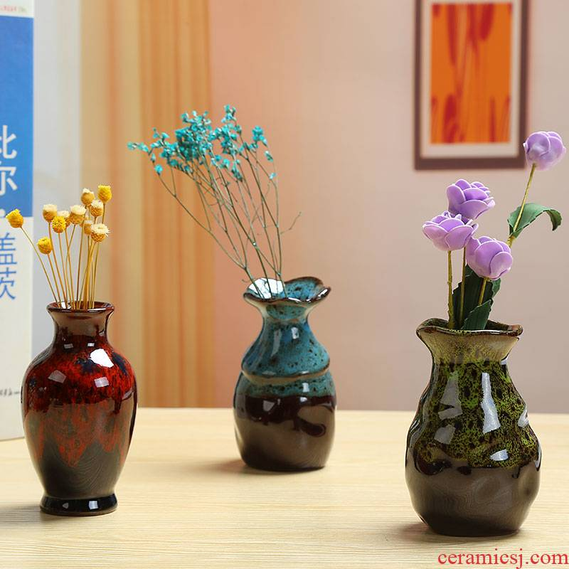 Other grass cooper hydroponic flower POTS dry flower arranging flowers all over the sky star vase furnishing articles ceramic green plant flowers, contracted and I