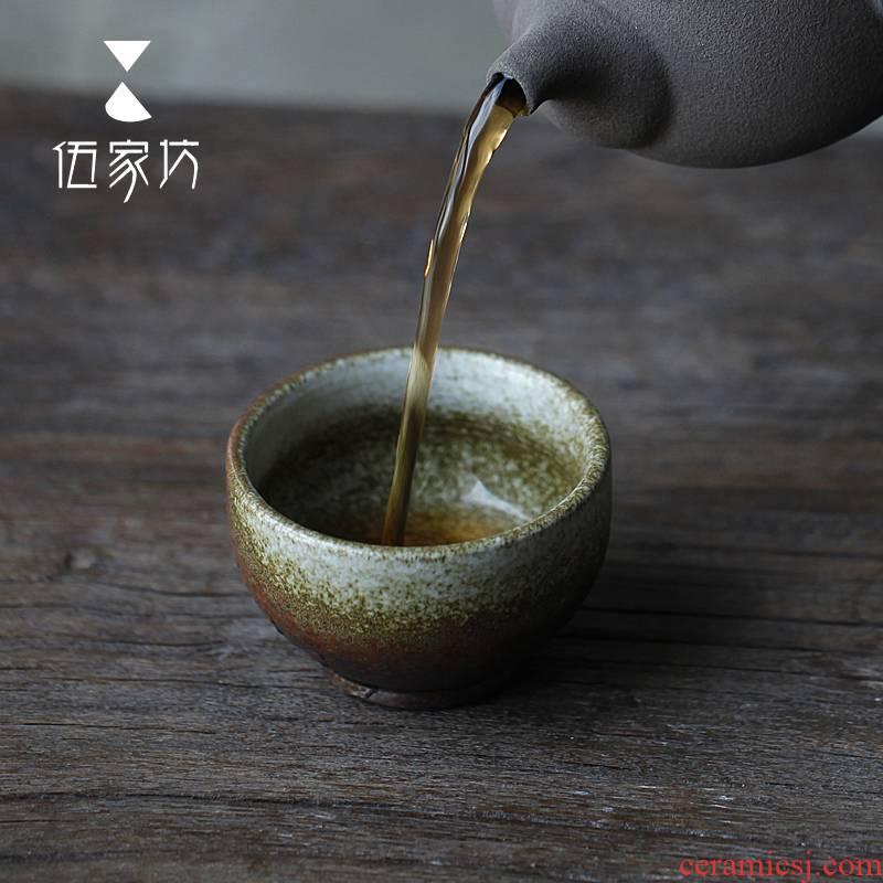 The Wu family lane pornograph kung fu tea cups, ceramic sample tea cup large glass master cup single cup tea cup