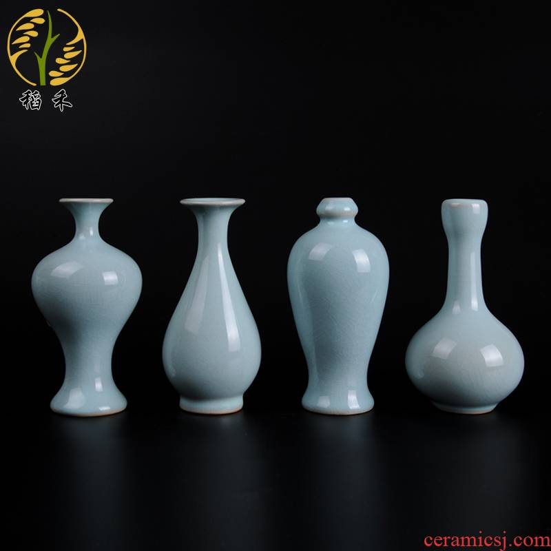 Archaize your up classicism floret bottle furnishing articles porcelain decoration decoration flower arranging flower implement creative ceramic tea