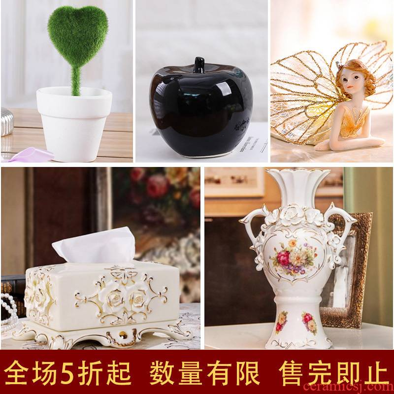 F the view their home decoration furnishing articles furnishing articles of I and contracted new home sitting room decoration ceramic arts and crafts