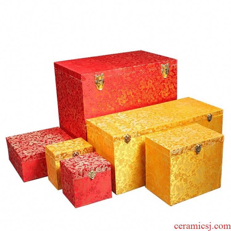 Jingdezhen ceramic plate bracket furnishing articles by plate for decoration plate vase JinHe packaging