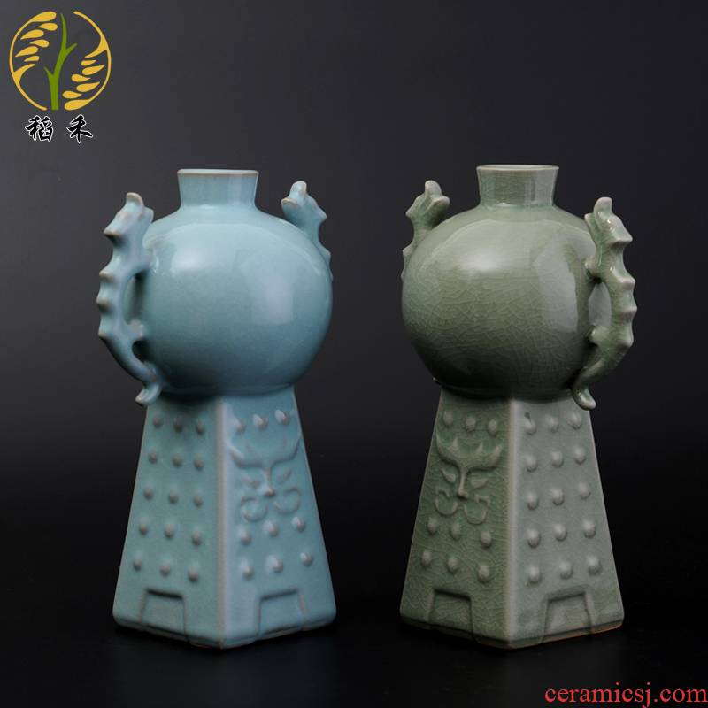 Origin of the ruzhou your up authentic your porcelain craft vase furnishing articles home sitting room adornment collection gifts