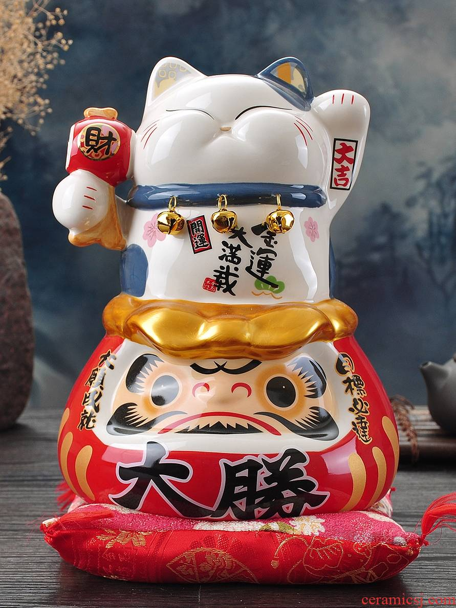 Plutus cat furnishing articles to piggy bank the opened the gift shops the opened ceramic dharma household decoration ideas housewarming gift