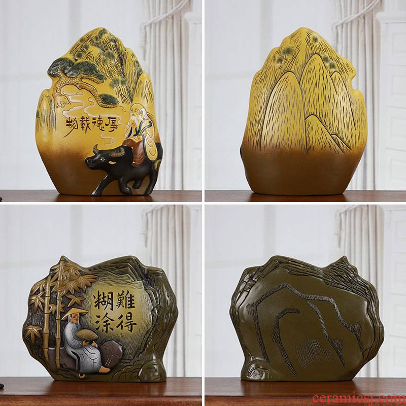 Great well adornment of new Chinese style its whatnot office decoration zen furnishing articles furnishing articles of ceramic arts and crafts
