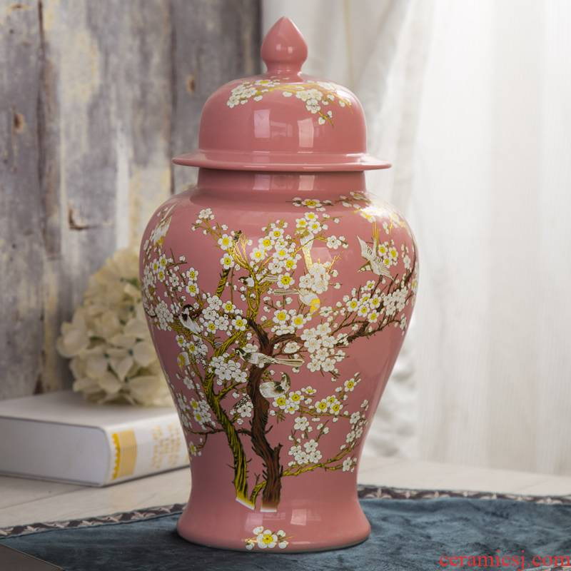 Restore ancient ways the general tank storage tank of pottery and porcelain household soft adornment creative furnishing articles example room sitting room decoration decoration