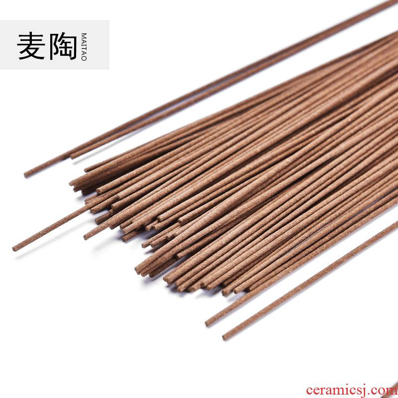 Wheat TaoTianRan laoshan sandalwood joss stick aloes all India wormwood household indoor fragrant incense bedroom