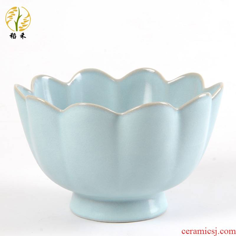 Your up antique Chinese ceramic arts and crafts porcelain bowl lotus type the foreigners gifts home sitting room adornment is placed
