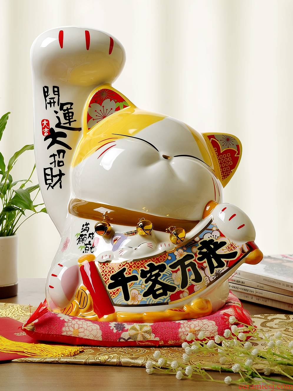 Stone workshop plutus cat ceramic company in the opened shops that occupy the home furnishing articles furnishing articles extra large gifts