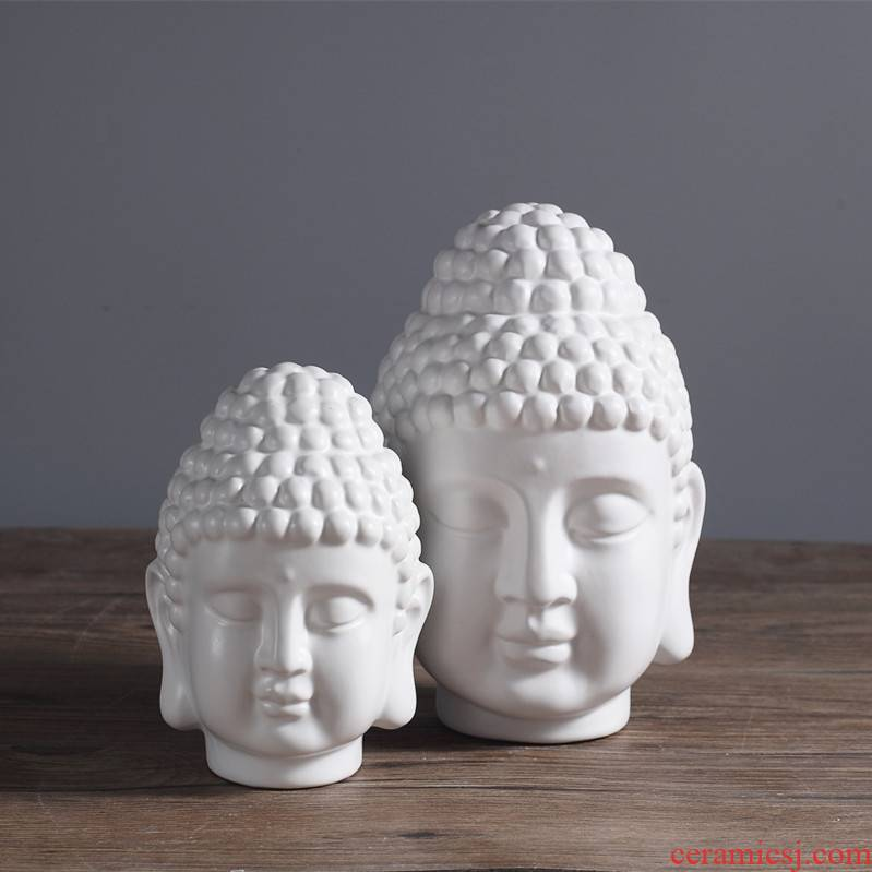 Jingdezhen ceramic household adornment of modern Chinese style living room beadle zen porch ark, furnishing articles of handicraft