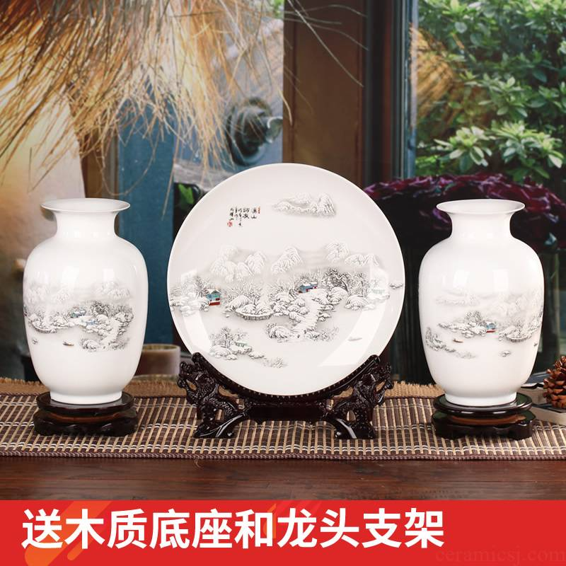 Creative ceramic vase I and contracted style of the sitting room porch ark office interior furnishing articles home decoration
