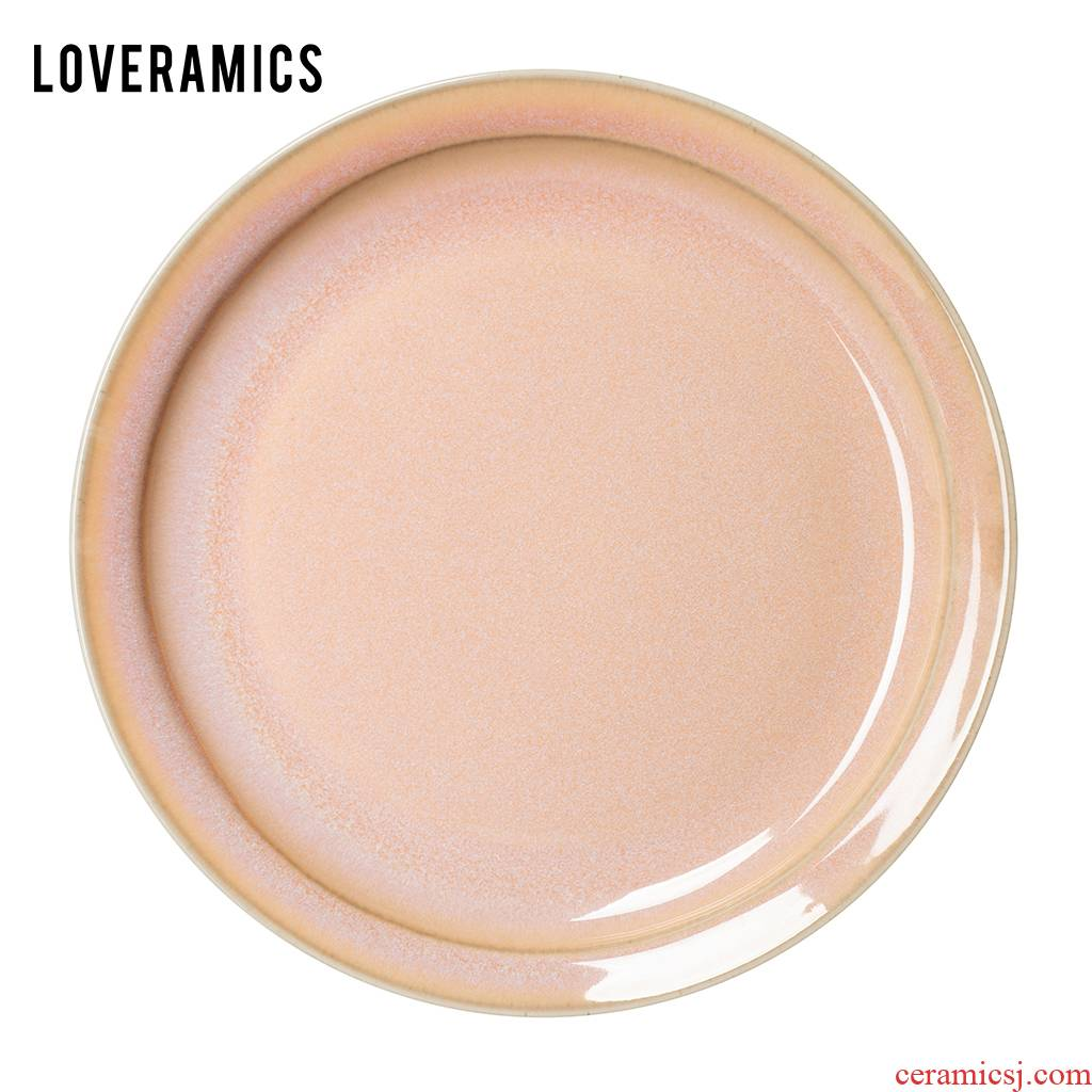 Loveramics love Mrs Er - go! Rose 26.5 cm flat western - style food dish dish of pure color plates