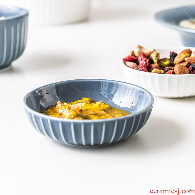 Nordic tableware ceramic porcelain soul small plate vinegar dish of soy sauce dish flavor dish dish dish creative ipads snack plate