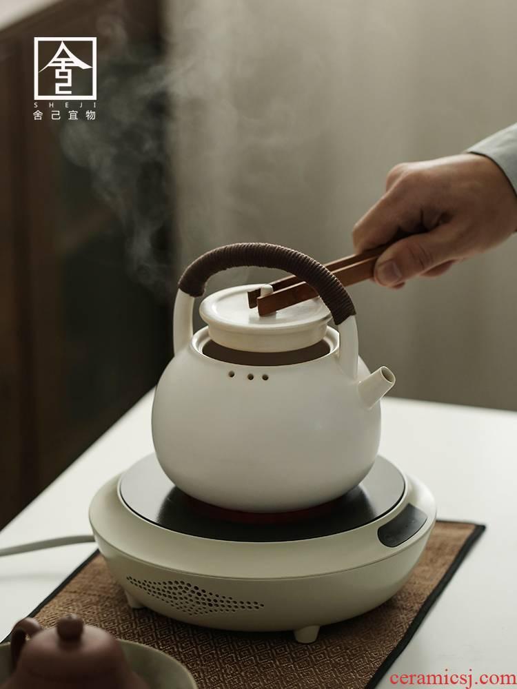 Electric TaoLu boiling tea tea stove suit white tea boiling tea ware the teapot tea stove ceramic furnace household ceramic POTS