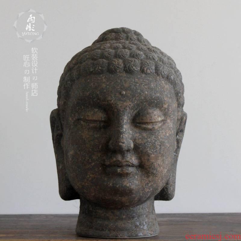 The rain tong home | jingdezhen ceramics ceramic furnishing articles furnishing articles manually figure of Buddha beadle ceramic its process variable