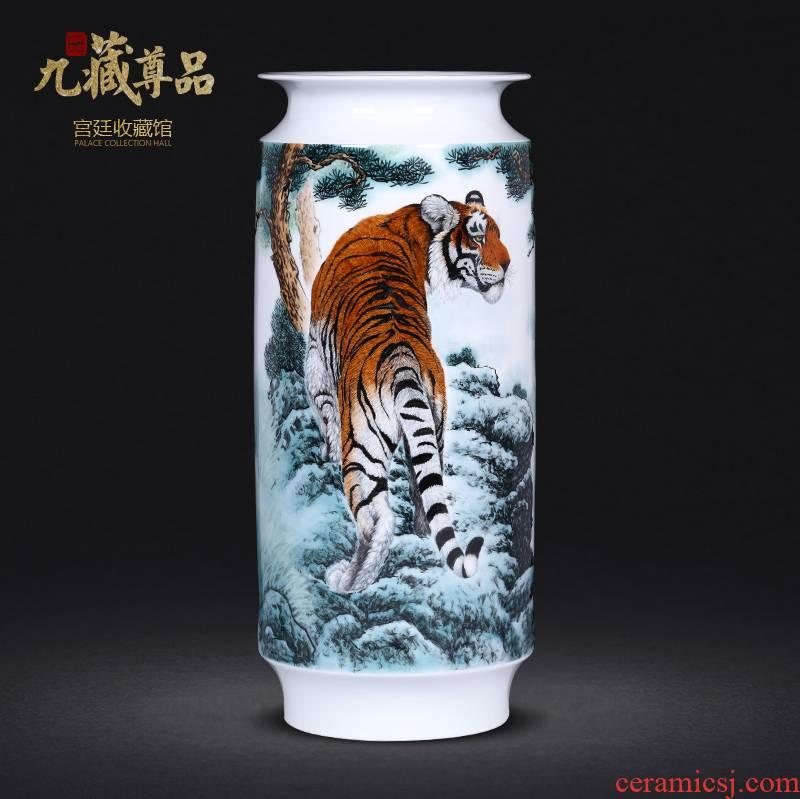 Famous hand - made pastel ideals vase of jingdezhen ceramics household flower arrangement sitting room TV ark, furnishing articles