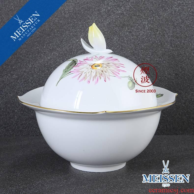 German mason MEISSEN porcelain magic wave series banquet tureen soup bowl of soup plate tableware
