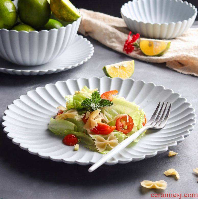 Northern wind mill sand by by dessert dish series pattern plate of dish all the household dinner plate ceramic tableware