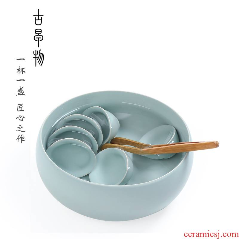 Your up big tea wash Your bowl with Your porcelain ceramic tea set tea cup kung fu tea set household accessories can raise