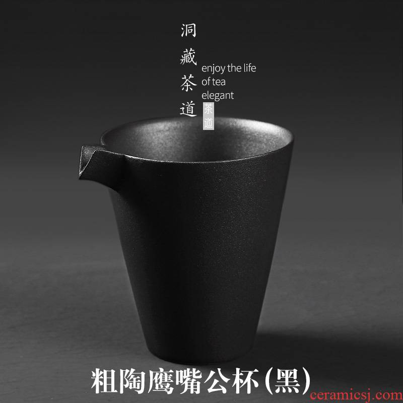 In building contracted Japanese fair keller of black points ceramic kung fu tea is tea and a cup of tea tea accessories