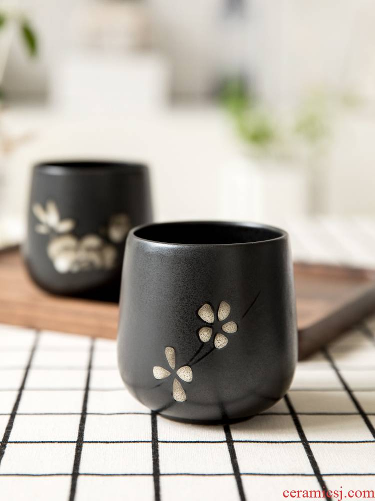 Ceramic cups restoring ancient ways is a single swallow Japanese soup cup of creative household contracted tea cups of tea light sample tea cup